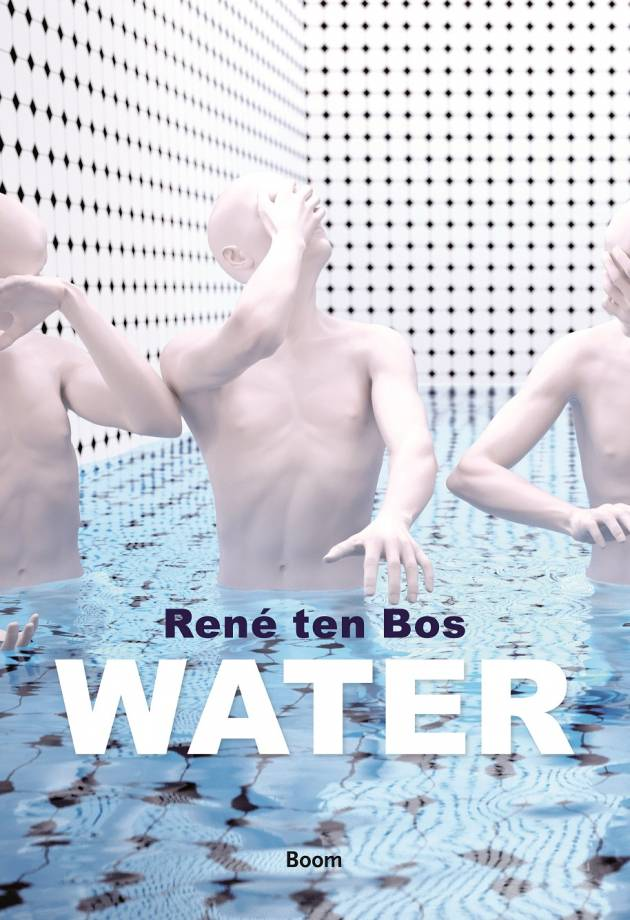 Henk Oosterling in gesprek met René ten Bos over 'Water' in Boekhandel Donner