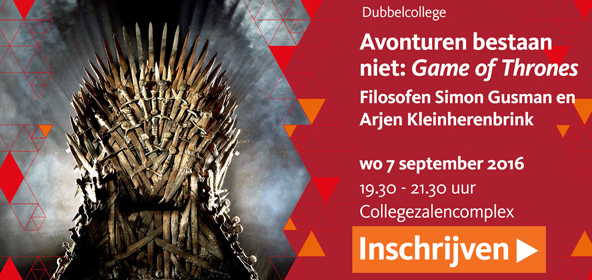 Arjen Kleinherenbrink en Simon Gusman over Game of Thrones
