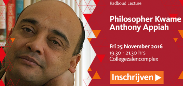 Kwame Anthony Appiah bij Radboud Reflects